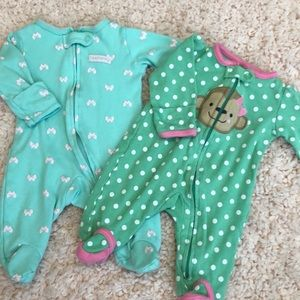 Set of 2 newborn sleepers